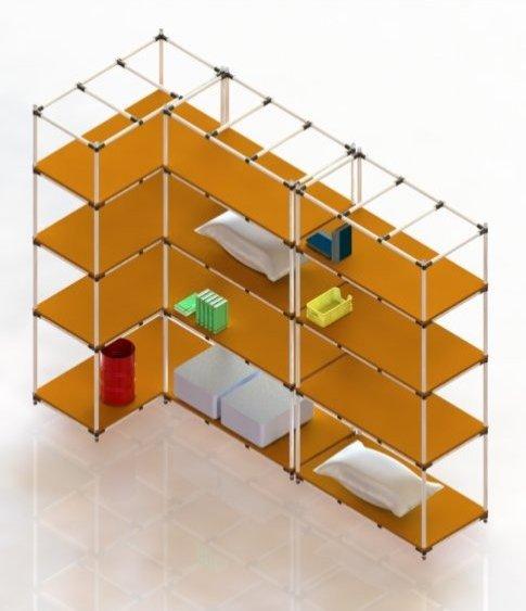 Scaffalature Su Misura.Scaffale Modulare Lean Manufacturing Flexlogik It